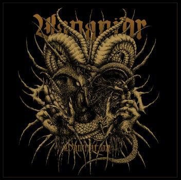 Vananidr - Damnation LP gold/black Splatter wax lim. 100