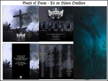 "Goats of Doom - Tie on hänen omilleen 12"" blue/black Galaxy Vinyl lim. 100 PRE-ORDER"