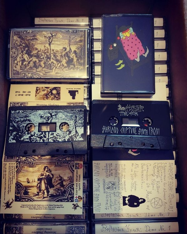 Boshafter Hexer Moaning Shadows  TAPE ltd